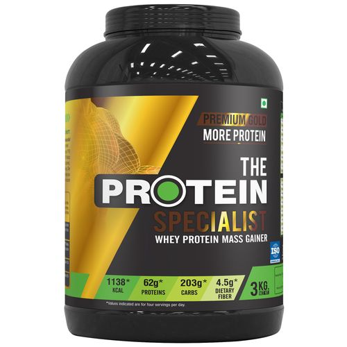 76935442e8a Buy The Protein Specialist Whey Protein Mass Gainer - Chocolate Online at  Best Price - bigbasket