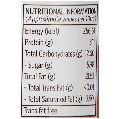 Veeba Tandoori Mayonnaise, 250 g Pet Jar