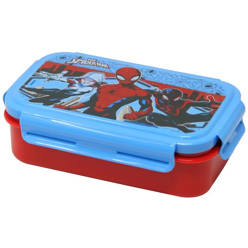 Hm International Marvel Spider Man Kids Plastic Lunch Box With Detachable  Steel Tray, 1 pc