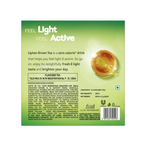 Buy Lipton Tulsi Natura Green Tea Bags