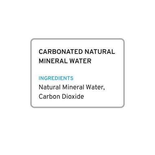 Boca Sparkling Natural Mineral Water, 350 ml