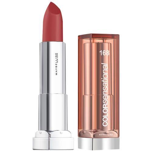 Maybelline New York Colour Sensational Satin Lipstick, 1 pc 168, Fearless Plum
