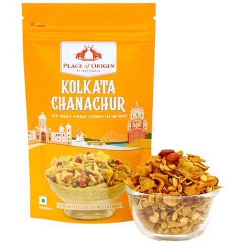 Place of Origin Kolkata Chanachur - Spicy Bengali Snack, 120 g