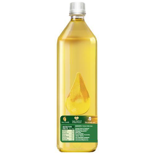 Nature Way 100% Natural & Pure Coconut Oil - Unrefined, 1 L