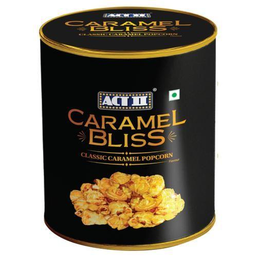 ACT II RTE Caramel Bliss Popcorn - Classic Caramel, 200 g Tin