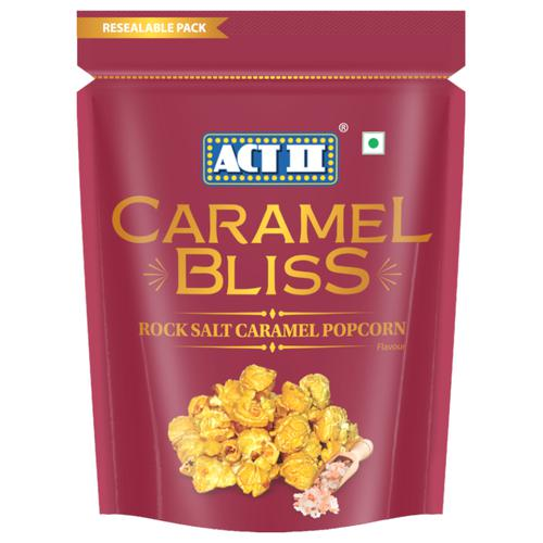 ACT II RTE Caramel Bliss Popcorn - Rock Salt Caramel, 70 g