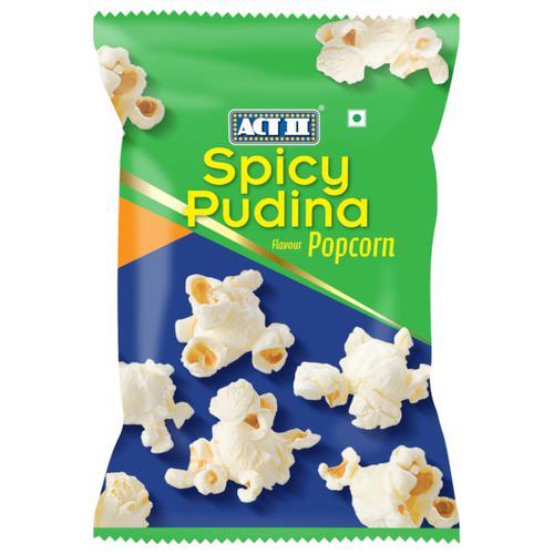ACT II RTE Spicy Pudina Popcorn, 45 g