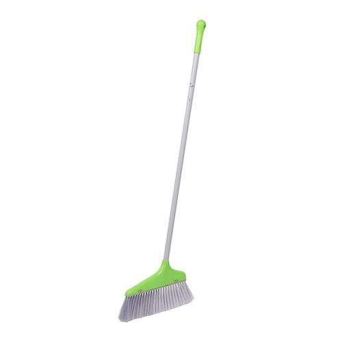 Liao Broom & Dustpan Combo - Plastic, Green, C130020G, 2 pcs