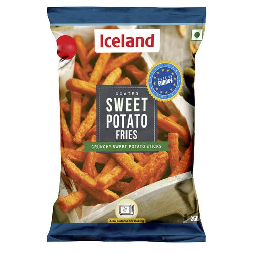 Iceland Sweet Potato Fries, 250 g