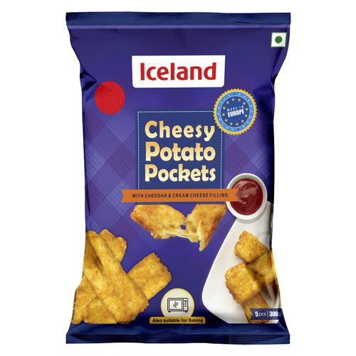 Iceland Cheesy Potato Pockets, 300 g