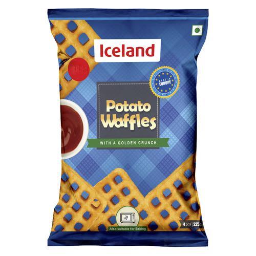 Iceland Potato Waffles, 225 g