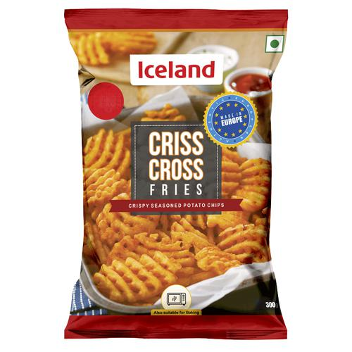 Iceland Criss Cross Fries, 300 g
