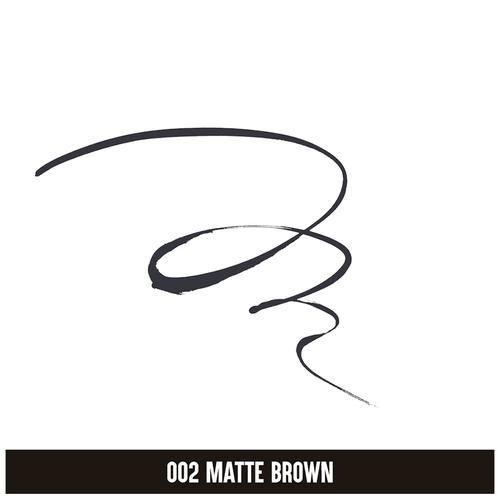 ColorBar All-Matte Eyeliner, 2.5 ml Brown