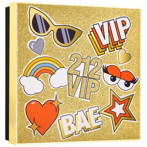 Carolina Herrera  212 VIP Eau De Parfum + Body Lotion, 2 pcs 50 ml + 75ml