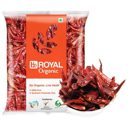BB Royal Organic - Byadagi Chilli Whole, 200 g