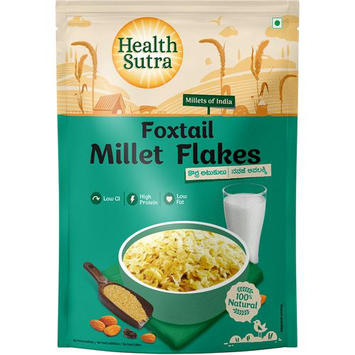 Health Sutra Foxtail Millet Flakes, 200 g Pouch