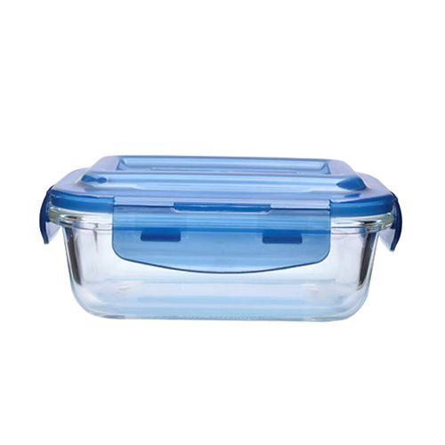 Buy Bb Home Borosilicate Glass Rectangular Food Container