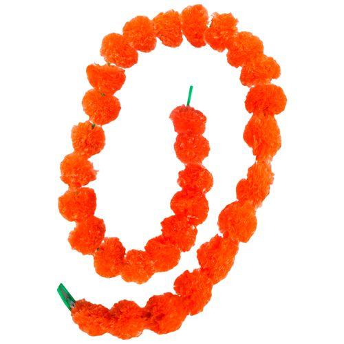 SBE Genda Phool/Mariegold Flower/Toran - Orange/Yellow, 2 pcs