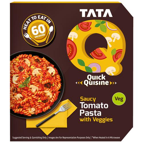 TATA Q Heat to Eat - Saucy Tomato Pasta with Veggies, 290 g