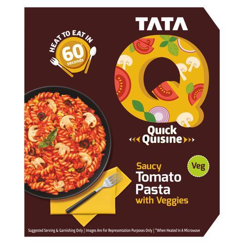 TATA Q Quick Quisine - Saucy Tomato Pasta With Veggies, 290 g