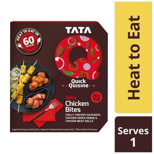 TATA Q Heat To Eat - Spicy Chicken Bites, 180 g