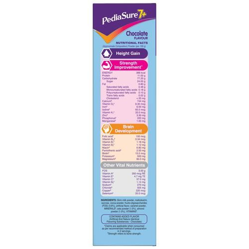Pediasure 7+ Specialised Nutrition Drink Powder For Growing Children - Chocolate Flavour, 400 g