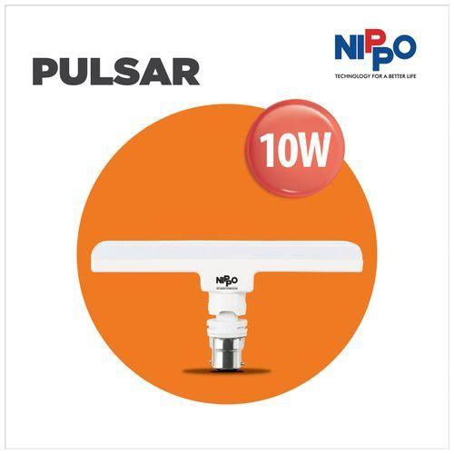 Nippo LED Lamp - 10 Watt, Cool Daylight, T-Bulb Base, B22, 1 pc