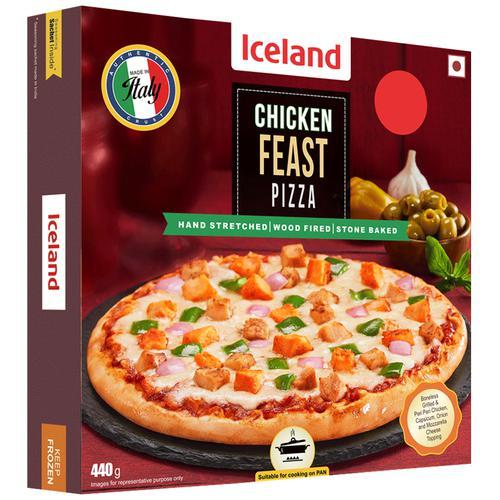 Iceland Chicken Feast Pizza, 440 g
