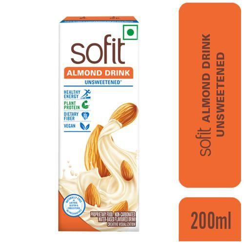 Sofit  Almond Drink Unsweetened, 200 ml