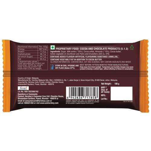 Buy Hersheys Whole Almond Bar Online at