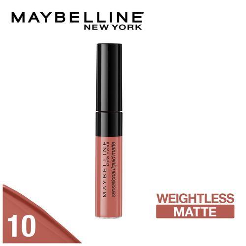Buy Maybelline New York Creamy Matte Lipstick, 696