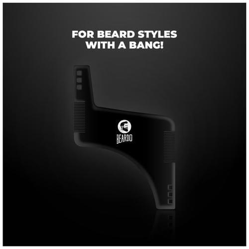 Beardo Boomerang Shaping Tool Comb, 20 g