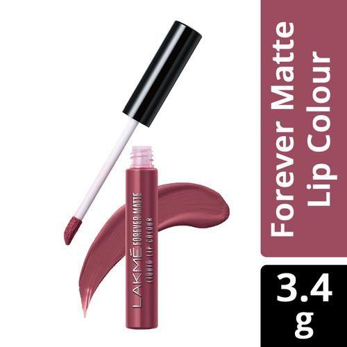 Buy Lakme Forever Matte Liquid Lip Colour 17 Nude Myth, 5
