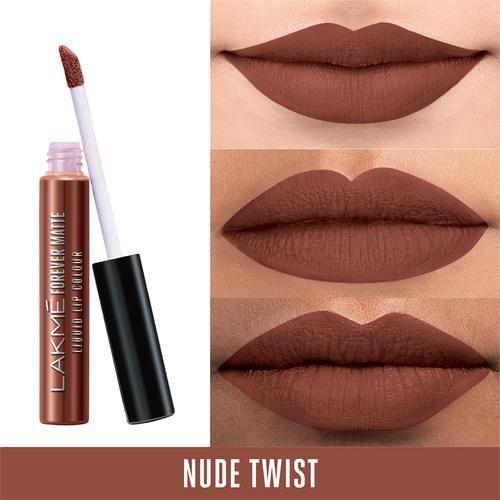 Buy Lakme Forever Matte Liquid Lip Colour - Nude Twist