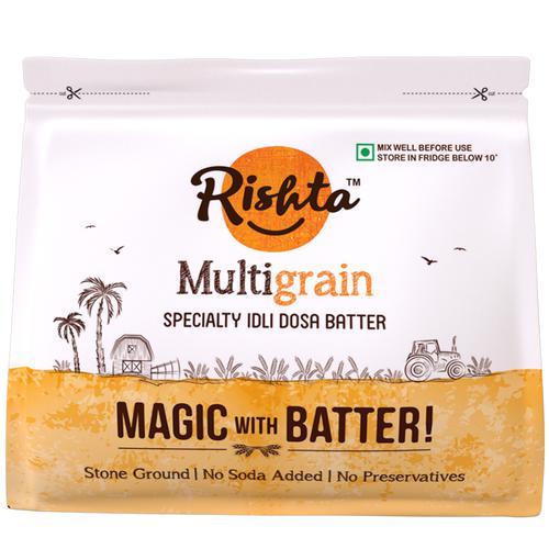 Rishta Multi Grain Idli Dosa Batter, 800 g Pouch