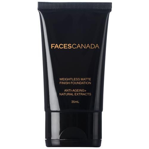Faces Canada Weightless Matte Finish Foundation - Sand 04, 35 ml