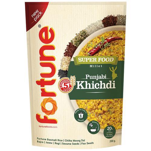 Fortune  Superfood Punjabi Khichdi, 200 g Pouch