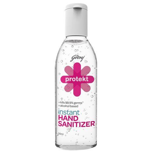 Godrej Protekt Hand Sanitizer, 50 ml