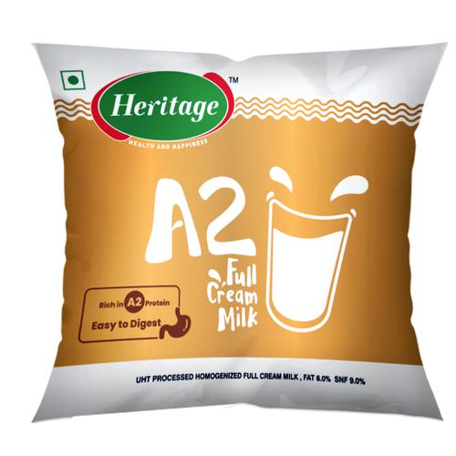 Heritage A2 Full Cream Milk, 500 ml