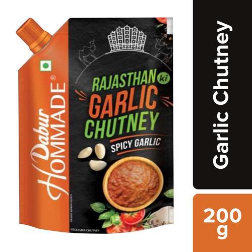 Dabur Hommade - Rajasthan Ki Garlic Chutney, 200 g