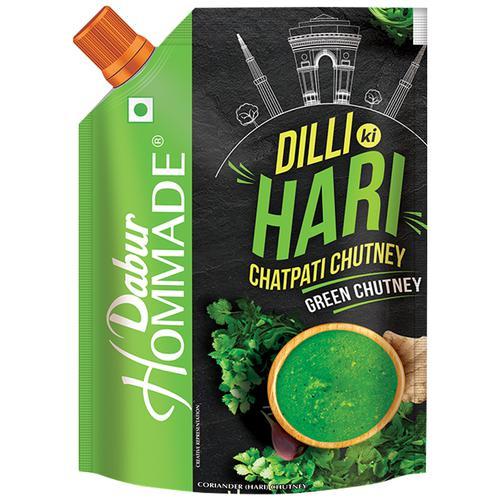 Dabur Hommade - Dilli Ki Hari Chatpati Chutney, 200 g