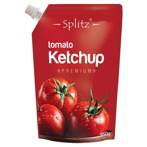 Splitz Tomato Ketchup, 950 g Pouch