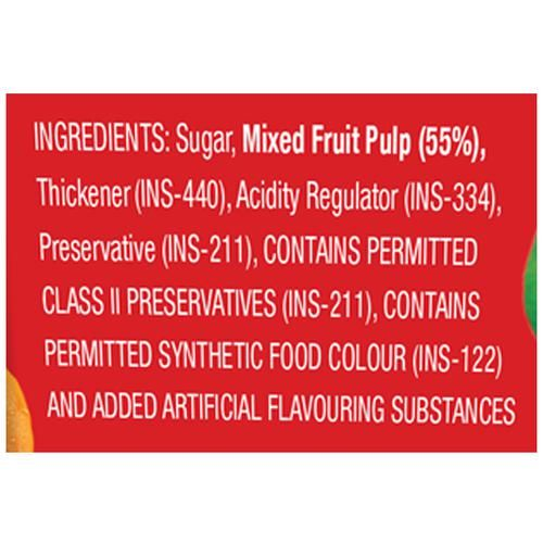 Splitz Mixed Fruit Jam, 700 g Tub