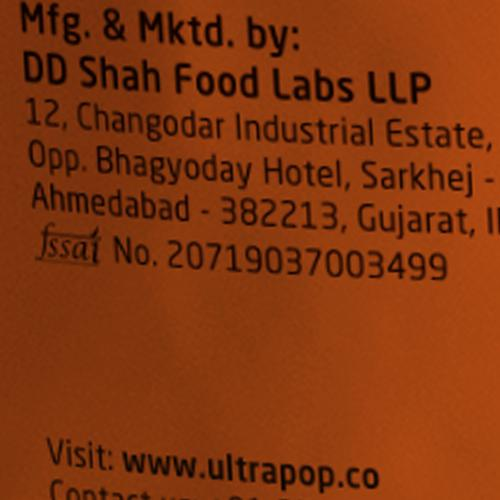ULTRAPOP Popcorn - Indian Masala Popcorn, 30 g