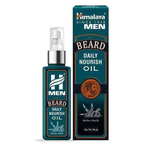 Himalaya Men Beard Daily Nourish Oil, 80 ml