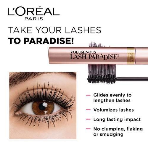 Loreal Paris Lash Paradise Mascara - Waterproof, 7.6 ml
