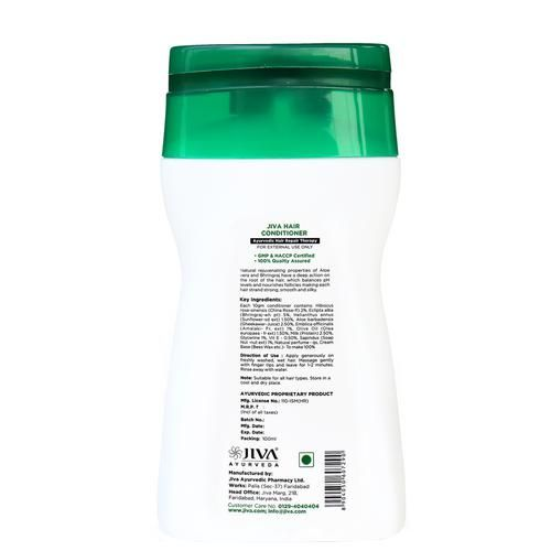 Jiva Ayurveda Hair Conditioner - Hair Repair Therapy, For All Hair Types, 100 ml
