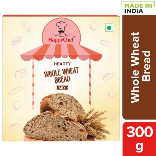 HappyChef Hearty Whole Wheat Bread Mix, 300 g