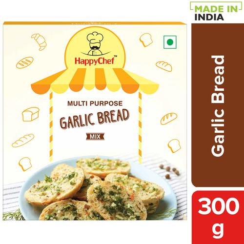 HappyChef Multi Purpose Garlic Bread Mix, 300 g