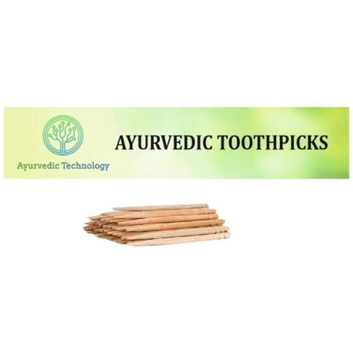 Ayurvedic Technology Neem Toothpicks, 25 pcs